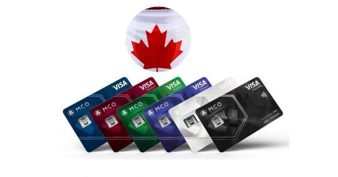 Canada welcomes Crypto.com MCO Visa Card