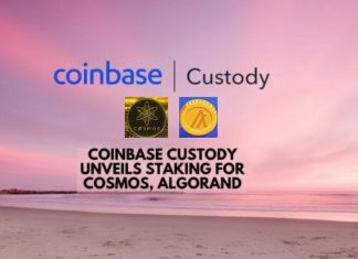 Coinbase Custody Unveils ATOM, ALGO Staking