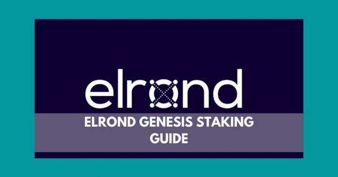 ELROND GENESIS STAKING GUIDE