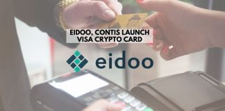 Eidoo, Contis Launch Visa Crypto Card