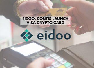 Eidoo, Contis Launch Visa Crypto Card