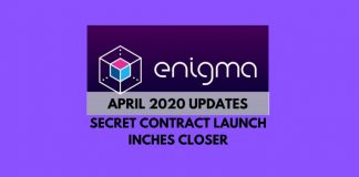 Enigma Closer to Secret Contract Launch