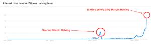 Bitcoin halving interest