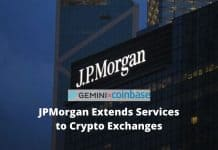 JPMorgan Extends Services to Crypto Exchanges