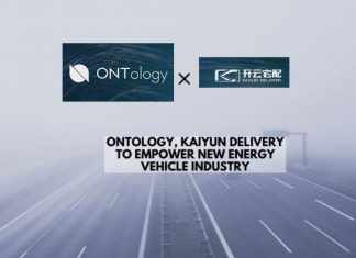 Ontology, Kaiyun Delivery to Empower NEV Industry