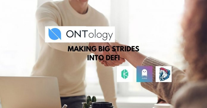 Ontology Making Big Strides Into DeFi
