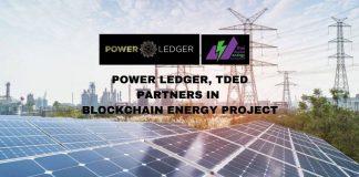 Power Ledger Partners TDED in Blockchain Energy Project