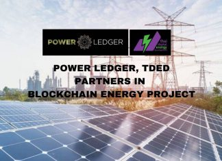 Power Ledger Partners TDED in Blockchain Energy Project