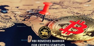 RBI Removes Barrier for Crypto Startups