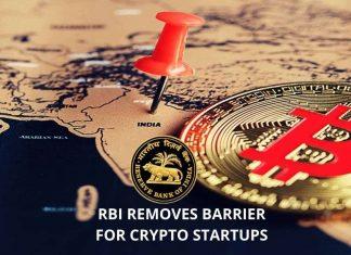 RBI Removes Barrier for Crypto Startups