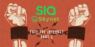 Sia Network SkyNet