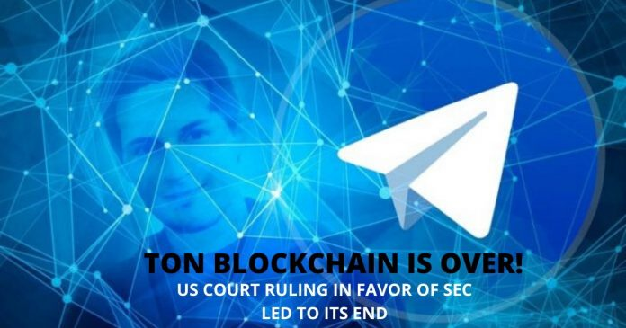 TON Blockchain Is Over, Says Founder Pavel Durov