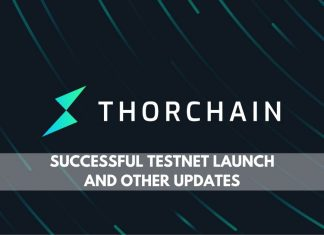 ThorChain successful testnet launch and other updates