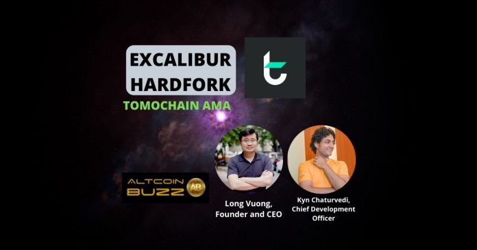 TomoChain Excalibur Hard Fork AMA Hosted by Altcoin Buzz 2
