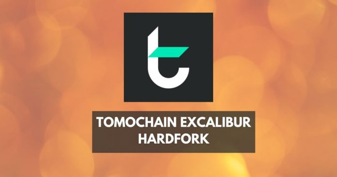 Tomochain excalibur hardfork