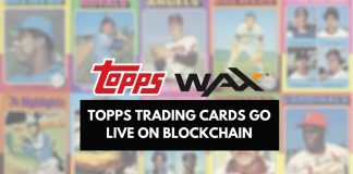 The Topps Company Launches Trading Cards on WAX