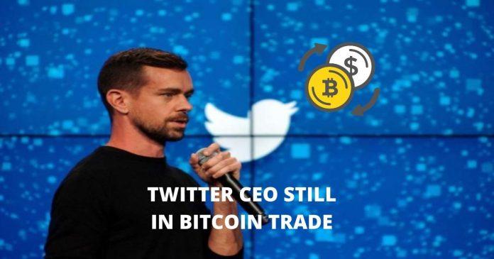 Twitter CEO Jack Dorsey Still in Bitcoin Trade