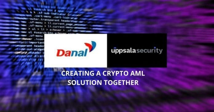Uppsala, Danal to Create a Crypto AML Solution