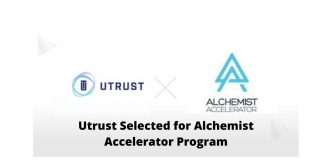 Utrust Selected for Alchemist Accelerator Program