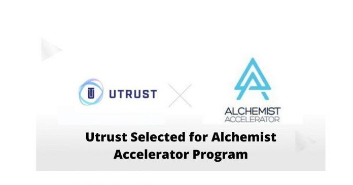 Utrust Selected for Alchemist Accelerator Program