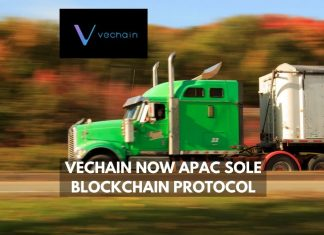 Vechain now APAC sole blockchain protocol