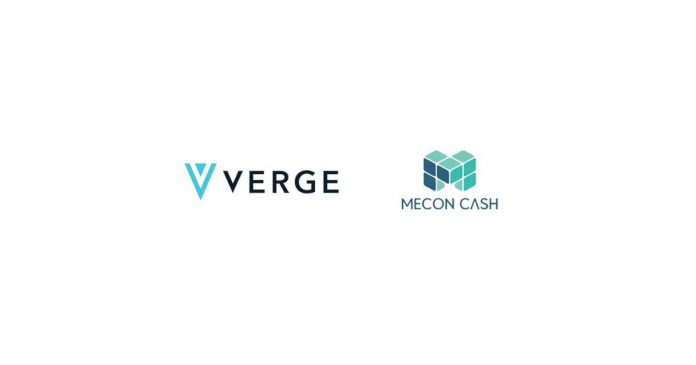Verge Currency MeconCash