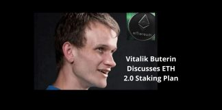 Vitalik Buterin Discusses ETH 2.0 Staking Plan
