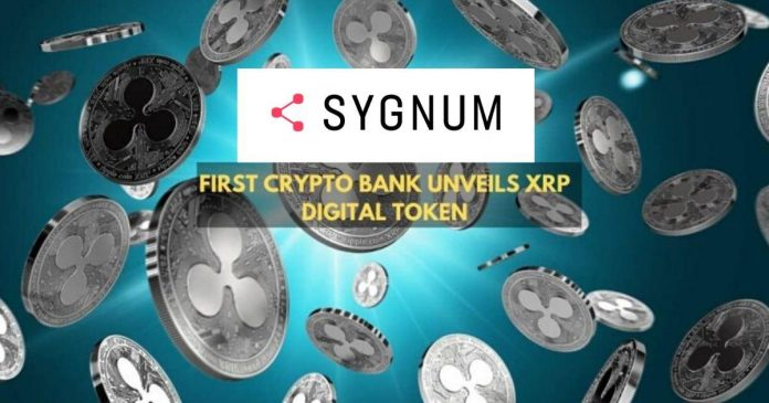 XRP Available in World's First Crypto Bank Sygnum
