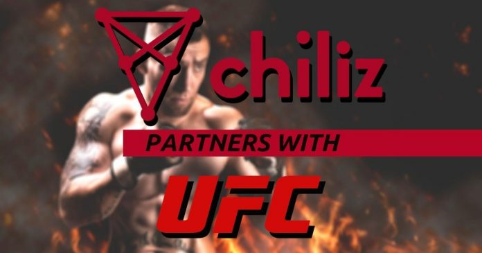 Chiliz parterns with UFC