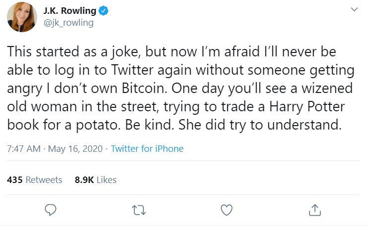 JK Rowling tweet 2