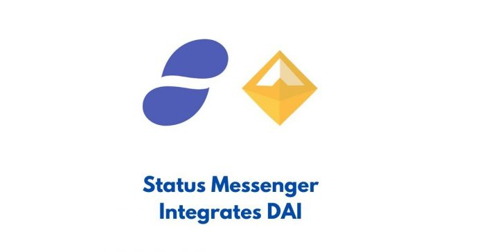DAI Integrated in Status Messenger Wallet
