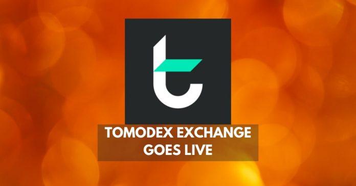 tomodex exchange goes live