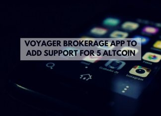 voyager brokerage app to add support for altcoin