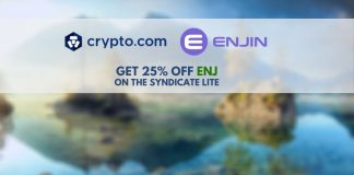 Crypto.com lists ENJIN tokens on its syndicate platform