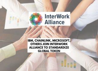 Chainlink & Microsoft join InterWork Alliance to Standardize Global Token