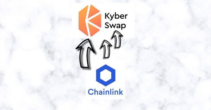 KyberSwap Enhances its Price Feeds with Chainlink