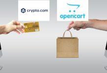OpenCart integrates Crypto.com Pay plugin