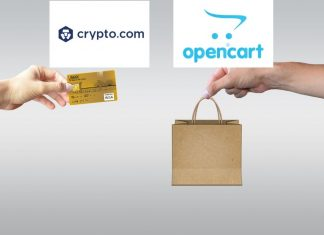 OpenCart integrates Crypto.com Pay plugin