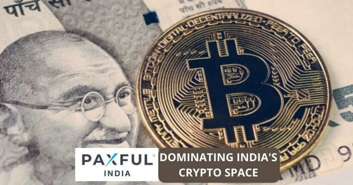 Paxful Dominates India's Crypto Space