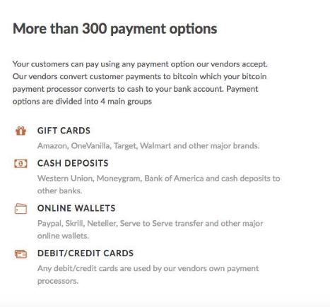 Paxful Payment