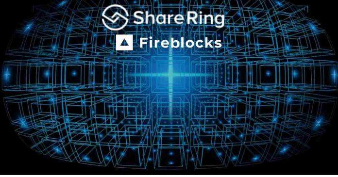 ShareRing Network (SHR) Integrated with Fireblocks Network