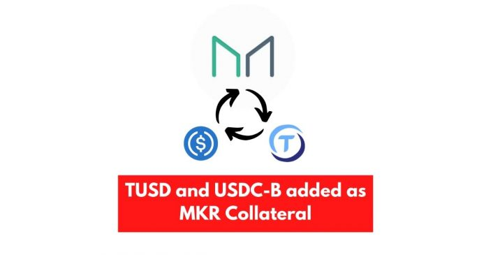 TUSD added as a Maker (MKR) Collateral, removed soon