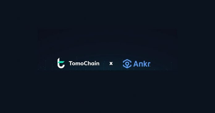 TomoX DEX Deploys Ankr's Cloud Hosting Solution