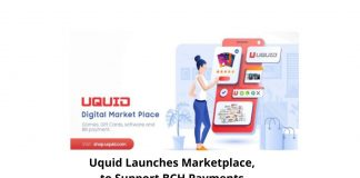 Uquid Launches Marketplace, to Support BCH Payments