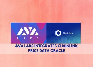 AVA labs integrates chainlink price data oracle