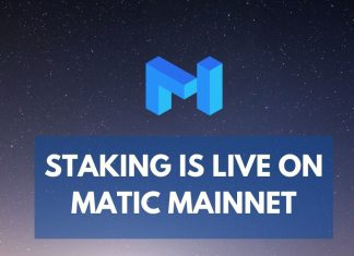staking is live on matic mainnet