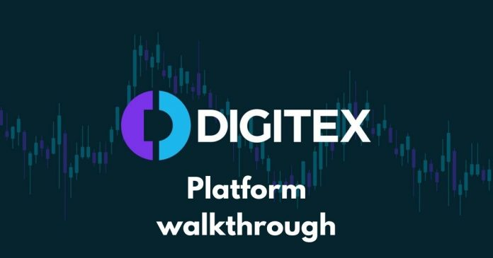 Digitex Futures Platform Walkthrough