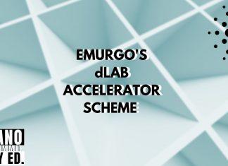 Emurgo's dlab accelerator scheme