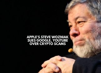 Steve Wozniak sues Google, YouTube over crypto scams