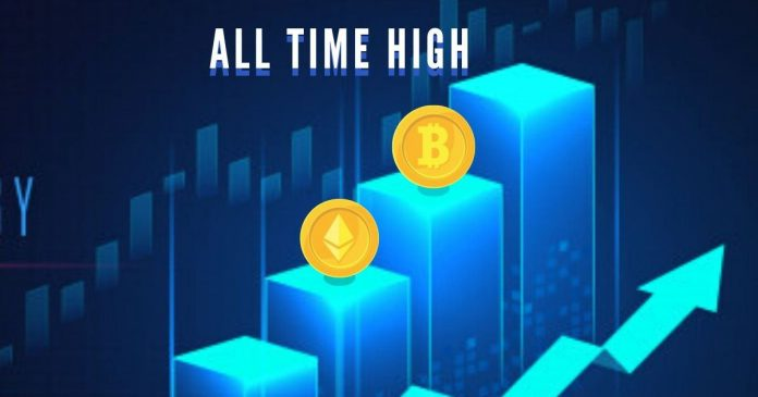BTC and ETH Networks Touch Record Breaking Highs
